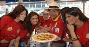 Pizza margherita targata Sol Levante