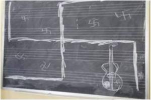 Svastica contro docente:associazione Italia-Israele,indagini