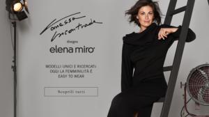 Vanessa Incontrada, firma capsule per Elena Miro'