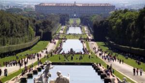 Pasquetta: Oltre 8 mila in Parco riaperto a Reggia Caserta