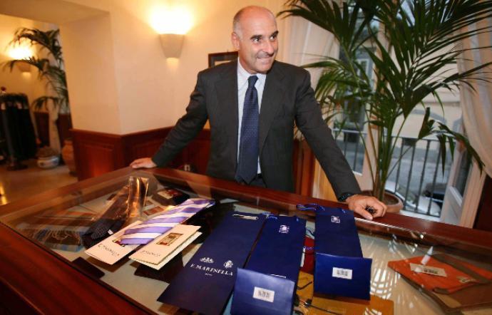 venduto in tutto il mondo orologio prezzi di sdoganamento Marinella, finalmente le mie cravatte nella capitale | Capri Event