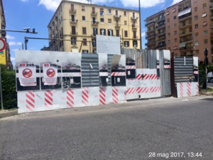 Vomero: liberate piazza degli Artisti dal cantiere!