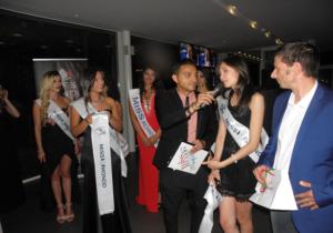 Barbara Chiappini Presenta la Seconda Tappa di Miss Mondo Campania a Castello di Cisterna