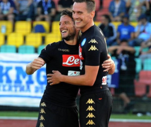 Napoli: Mertens-Milik,7 gol per via alla sfida del 9