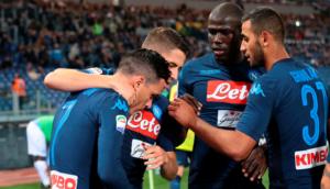 Ciclone Napoli: ribalta la Lazio all'Olimpico