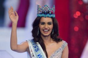 Miss Mondo: regina 2017 e' l'indiana Manushi Chhillar