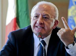 Elezioni: De Luca, non vincerà nessuno e sarà un calvario