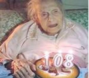Casola di Napoli, Zi' Carmelina ha compiuto 108 anni