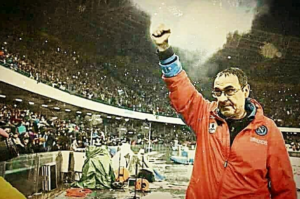 Napoli: tifosi e Sarri uniti,scudetto #finoalpalazzo