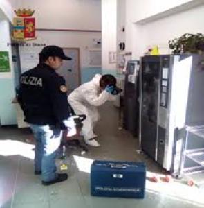 Polizia Dante: furto in una scuola, recuperata la refurtiva