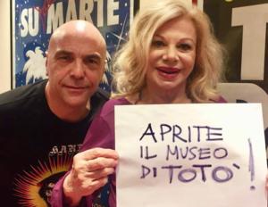 """""""Aprite il Museo di Totò"""", l'appello di Sandra Milo!"""