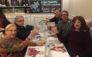 """""""Olio e Pomodoro"""" con Champagne"""