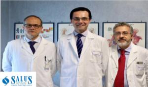 """Alla Salus straordinaria tecnica nella chirurgia vascolare.""""Nuovi interventi per il piede diabetico e per le ulcere e ferite """"difficili"""""""