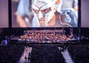 Il Gladiatore in concerto, chiude con 12 mila spettatori