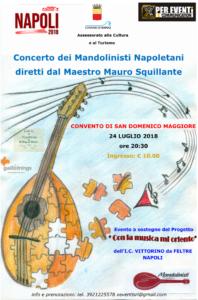"""""""Estate a Napoli 2018, Estate bambina 'a voce d'e' creature"""" al Convento San Domenico Maggiore"""