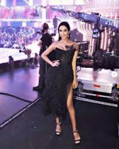 """Rocìo Munoz Morales sceglie un look Made in Italy per """"Bailando con las estrellas"""""""