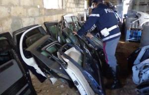 Furti di auto nel Salernitano, pezzi rivenduti anche online