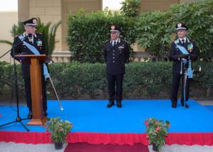"""Carabinieri. Il Generale Cinque lascia la Campania: """"Ho vissuto un'esperienza professionale unica e irripetibile"""""""
