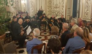 """La tournée estiva, della """"NapoliMandolinOrchestra"""""""