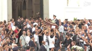 Crollo ponte: D'Amelio ai funerali delle vittime di T.Greco
