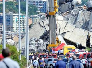 Crollo ponte Morandi : Marco, aspettavo a Barcellona gli amici campani
