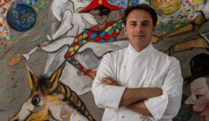 """Nino Di Costanzo ospite di """"Positano Gourmet""""al ristorante La Serra di Luigi Tramontano"""