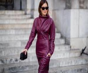 Da bondage a ladylike, la rivincita dei vestiti di pelle Inverno 2019