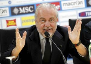 """De Laurentiis: per il nuovo stadio, """"basterebbero 2 secondi"""""""