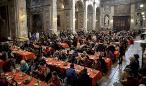 Natale: in 400 a Napoli per pranzo Comunità di Sant'Egidio