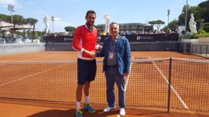 Un parterre d'occasione quello che accoglierà Marin Cilic per celebrare il suo ultimo successo: la Vittoria della Coppa Davis.