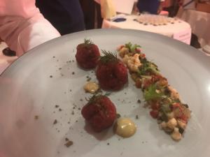 """Cena sotto il """"Cielo diverso"""" di Pompei"""