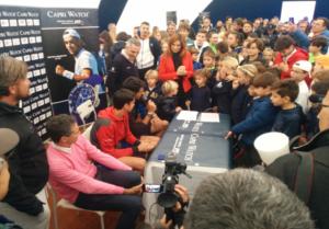 La prima edizione del Capri Watch Day a Napoli:  con 500 ragazzi delle scuole tennis campane