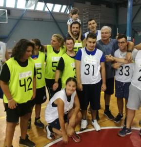 Arriva a Napoli il Baskin Un nuovo modo per fare sport