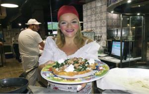 Cena Degustazione con Teresa Iorio a Casa Rossopomodoro sul Lungomare di Napoli