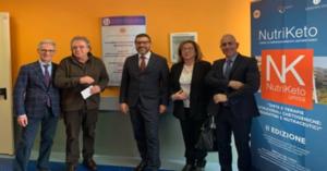 Partnership tra Azienda Moscati e Università di Salerno: il Rettore Tommasetti, inaugura il laboratorio di ricerca nutrizionale e cosmetica