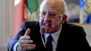 """De Luca: Istituto Pascale, """"Vergogna Nazionale"""" L'esclusione dai Fondo Ricerca"""