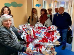 """100 uova di Pasqua, per i bambini del """"Santobono Pausilipon"""""""