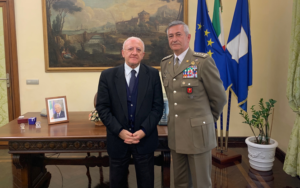 Forze Armate, De Luca Incontra il Generale Tota