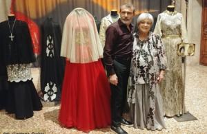 """Michele Miglionico ospite al Museo di Palazzo Mocenigo """"Venezia"""""""