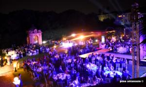 """Grande serata e tantissimi ospiti al """"Gran Galà di Beneficenza"""" a Villa Signorini ad Ercolano"""