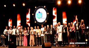 Premio Eccellenze del Sud 2019 Villa Signorini con Luca Abete e Lorenza Licenziati