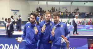 Universiade: la Scherma Chiude in Bellezza, due medaglie d'oro nel Fioretto e Sciabola