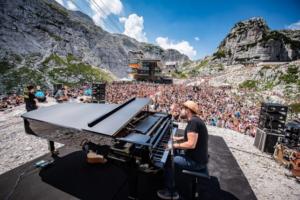 """Record di pubblico al """"No Borders Music"""" in alta quota"""