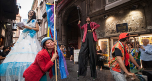 I Luoghi delle Fiabe: Festa finale a Piazza Forcella