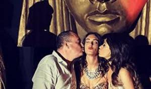 Maria Grazia Cucinotta: festa di compleanno a tema Egitto per i 18 anni della figlia Giulia Violati