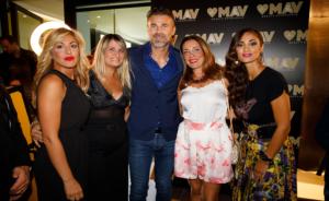Grande Successo al party, organizzato al MAV Beauty Experience, nel cuore del Vomero