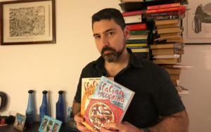 """Mostri leggendari, pizza e camorra:  la Napoli fantasy del genovese Marco Cardone in """"Italian Way of Cooking"""""""