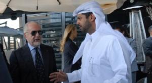 """Daily Mail,Al Thani offre 560 milioni a De Laurentiis """"per l'acquisto del Napoli"""""""