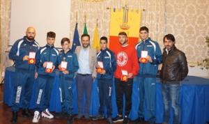 Borriello: premiati 4 giovani pugili