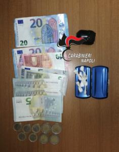 Spaccio di droga nel Rione Traiano: pusher arrestato